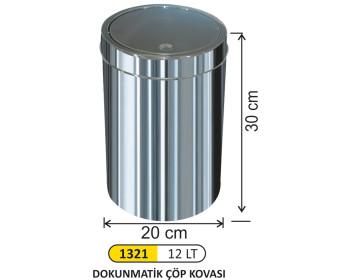 Dokunmatik Çöp Kovası 12 lt
