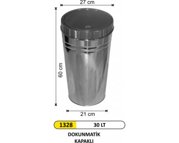 Dokunmatik Çöp Kovası 30 lt