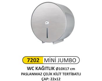 Mini Jumbo Wc Kağıt Aparatı Paslanmaz
