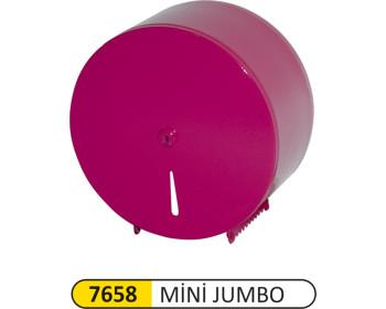 Mini Jumbo Wc Kağıt Aparatı Metal Renkli