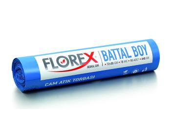 Florex Cam Atık Baskılı Battal 72×95