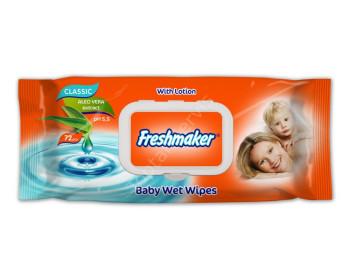 Freshmaker 72 Adet Kapaklı Islak Havlu