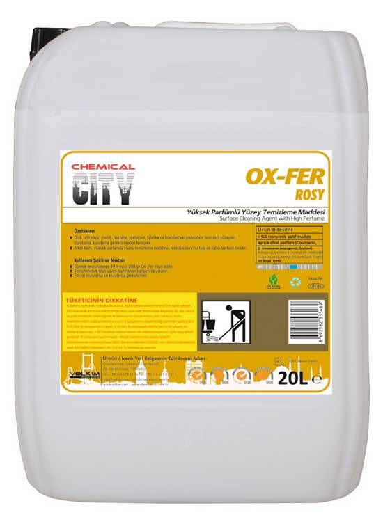 Chemical City / OX-FER Fresh-(Yüksek Parfümlü Yüzey Temizleme Maddesi) Rosy