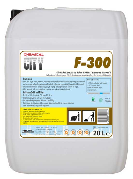 Chemical City / F – 300 Cila Bakım Mad.