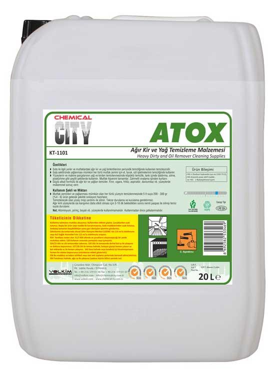 Chemical City / Atox-Ağır Kir ve Yağ Çözücü