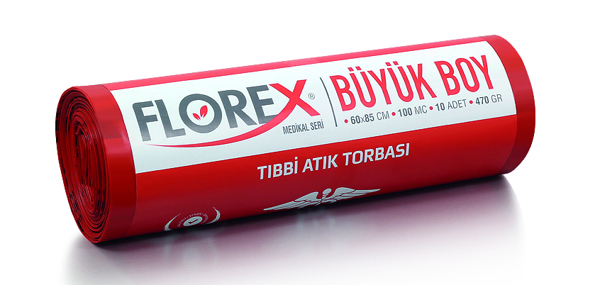 Florex Tıbbi Atık Büyük 60×85
