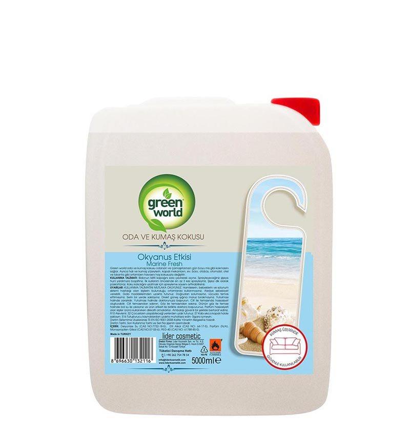 Green World Oda Ve Çamaşır Parfümü 5 Lt